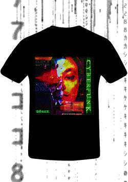 CHRISTIAN DÖRGE - CYBERPUNK (Men's Classic Jersey T-Shirt schwarz)