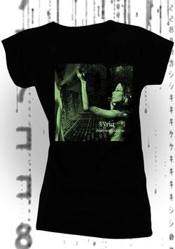 SYRIA - AMERICAN GOTHIC (Women's Slim Fit Jersey T-Shirt schwarz)