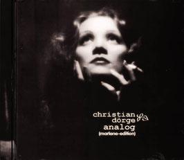 Christian Dörge: ANALOG (Marlene-Edition)