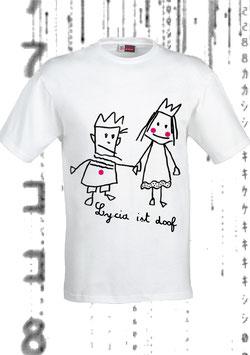 LYCIA IST DOOF! (Men's Classic Jersey T-Shirt weiß)