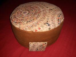 Meditationskissen mit echten Korkstoff