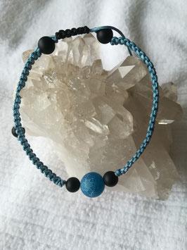"""Armband """"Blue Ice"""""""