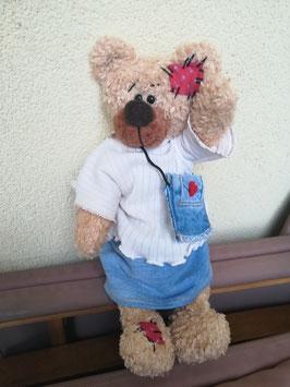 EMMA die süße Bärendame, Echte Handarbeit, Einzelstück