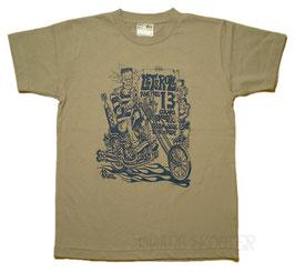 Franken Chopper Tee(gray)/フランケンチョッパー グレーTシャツ