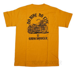 WL BOBBER MACHINE Tee(Yellow)/WLボバー イエローTシャツ