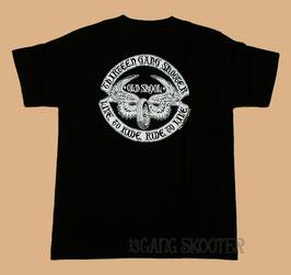 Flying wheel Tee/フライングホイールTシャツ