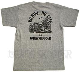 WL BOBBER MACHINE Tee(Gray)/WLボバー グレーTシャツ