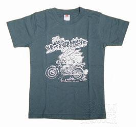 Aermacchi Tee/モーターラビット  デニムTシャツ
