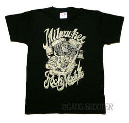 Blockhead Motor T-shirt/エボリューションエンジンTシャツ