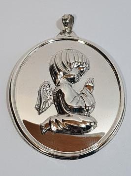 Anjo de Berço de Joelhos Medalha Grande 95.80 - RR
