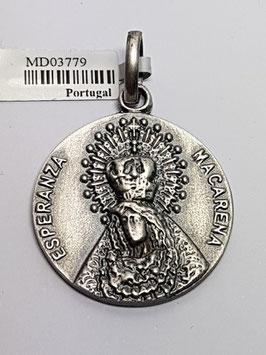 Medalha Prata - Nossa Senhora Macarena
