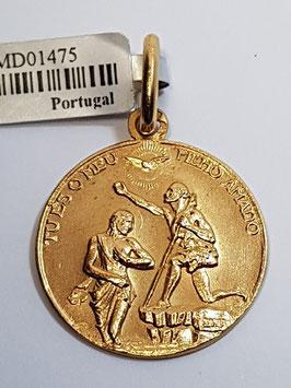 Medalha Baptismo - Escultor