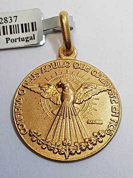 Medalha Espírito Santo - Crisma - Escultor