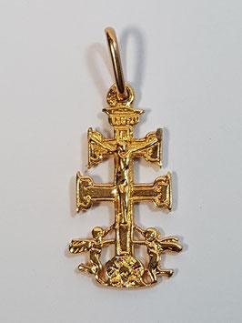 Cruz ouro Caravaca 20 - AB