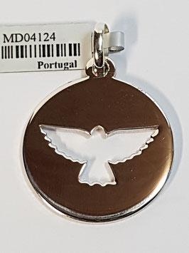 Medalha Espírito Santo - Recortada Grossa