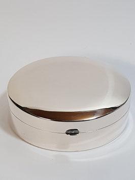 Caixa oval em prata - PP