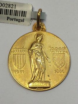 Medalha Santa Isabel - Escultor João da Silva