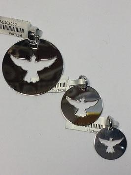 Medalha Pomba Espírito Santo Recortada - RR