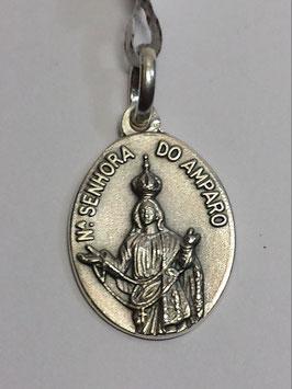 Medalha Prata Nossa Senhora do Amparo - PP