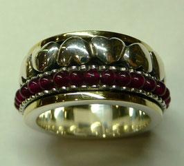 Aliança de Prata e Ouro - ANH1264