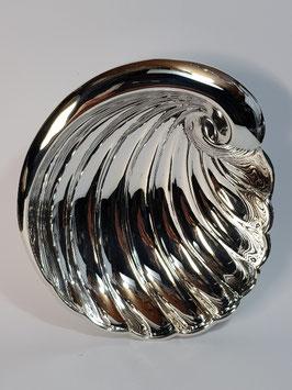 Concha baptismo prata onda - Top