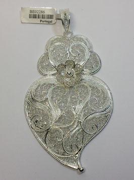 Coração de Viana de filigrana em dourada 85.70