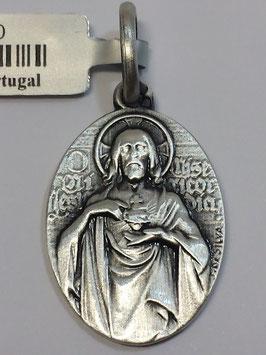 Medalha Sagrado Coração de Jesus - Escultor João da Silva