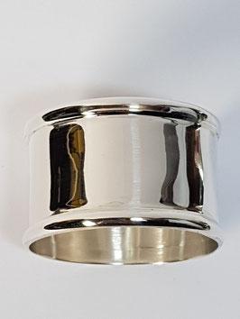 Argola prata frisos para vela baptismo 21.31 - PP