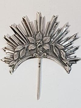 Resplendor prata para santos 32.45.48 Dº32 - PP/AS048