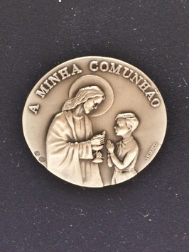 Capela Primeira Comunhão Menino em Prata - Escultor