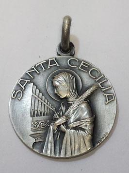 Medalha Santa Cecilia - Escultor
