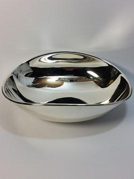 Taça oval bojuda em prata - FM