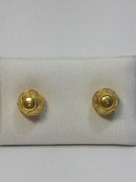 Brinco ouro bola de Viana 6mms