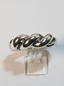 Anel em prata fios enrolados - ARK
