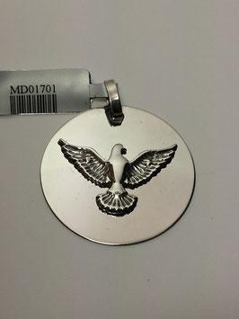 Medalha Espirito Santo Lisa 28 - JCC