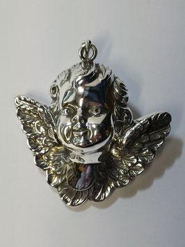 Anjo de Berço em Prata - Papudo
