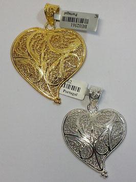 Coração de filigrana em prata 40.45 - ME