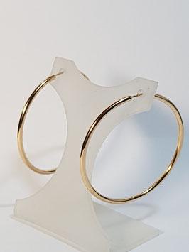 Brincos ouro argola fio redondo 43.1,5 - AR