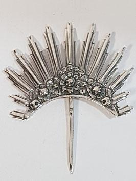 Resplendor prata para santos 30.45.55 Dº35 - PP/AS049