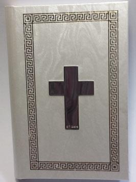 Missal com Cruz Lisa em Prata