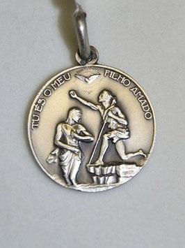 Medalha Baptismo de Jesus - Escultor