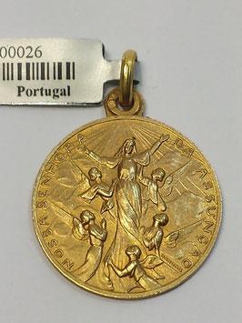 Medalha Nossa Senhora da Assunção - Escultor