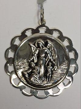 Medalha de Anjo da Guarda de Beira Rendilhada