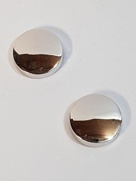 Capa de Botão Redonda Polida - RR