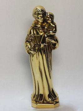 Sto António 10 em prata dourada - TOP