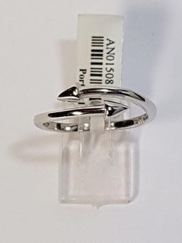 Anel em prata aberto setas - AU