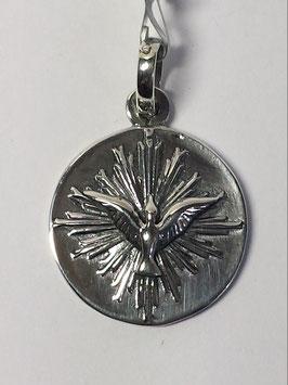 Medalha Espírito Santo Redonda Resplendor