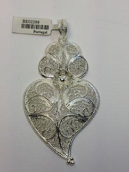 Coração de Viana de filigrana em prata 67.57 - AN