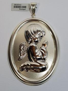Anjo de Berço de Joelhos Medalha Oval 70.50 - PP