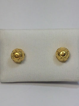 Brincos ouro bola de Viana 5mms